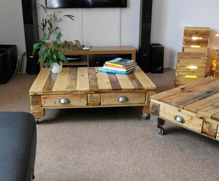 retro style furniture. UrbanPallets: Retro Style Furniture Made From Reclaimed Wood Retro