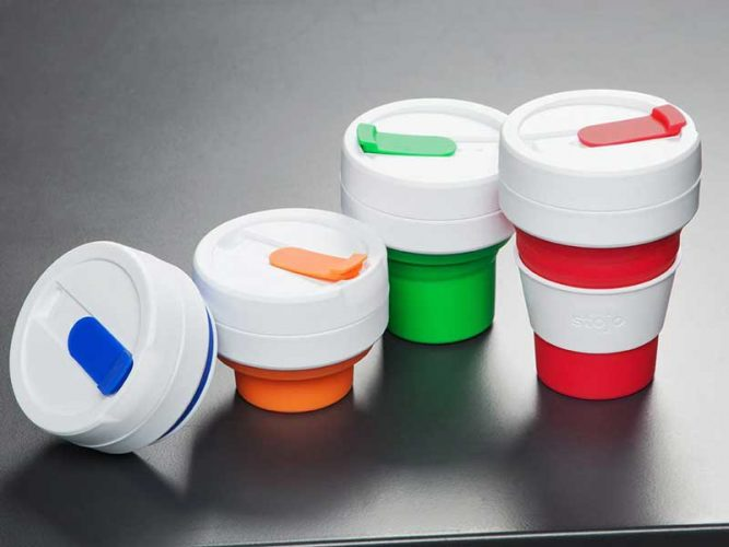 Stojo The Reusable Collapsible Pocket Cup Tackling