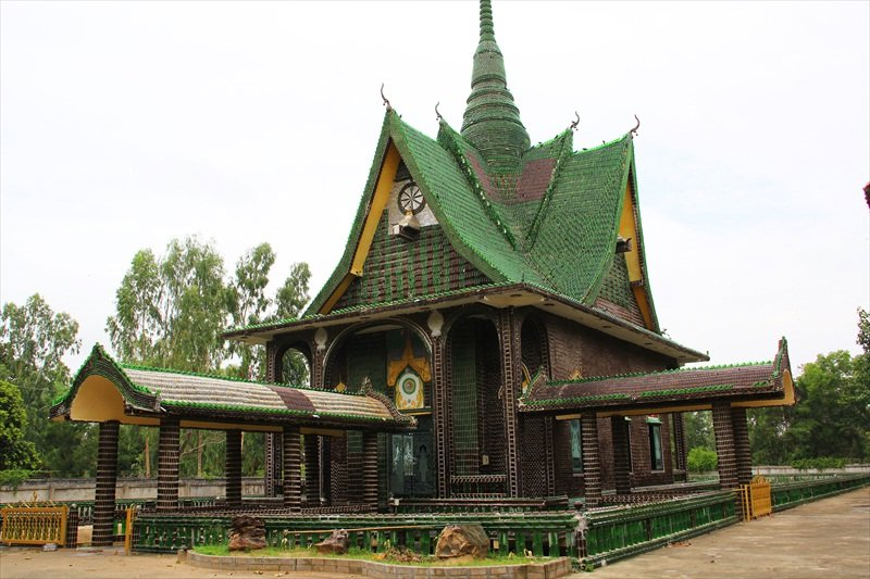 Temple Of A Million Bottles Thailand S Recycling Wonders