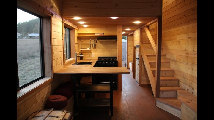 Tiny Healthy Homes Off Grid Living In An All Natural Tiny House