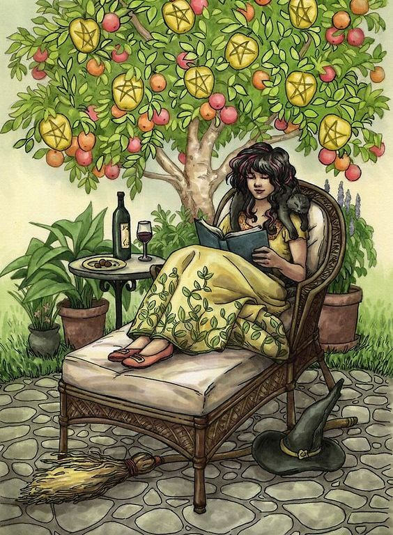 Tarot Guidance for Wednesday 14 August 2019: 9 of Pentacles