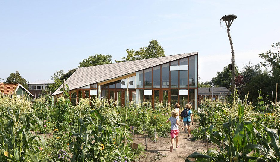Environment learning centre helps school children get up