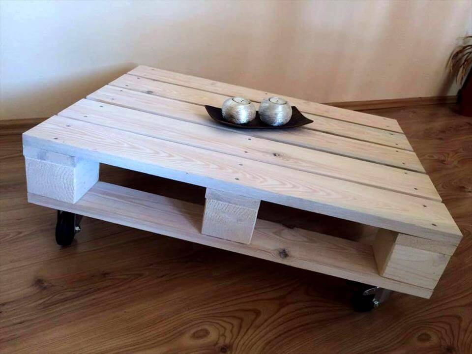 Make Your Own Home Furniture Pallet Coffee Table Life