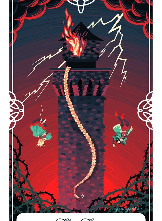 Tarot Guidance for Monday 2 April 2018: The Tower – Life