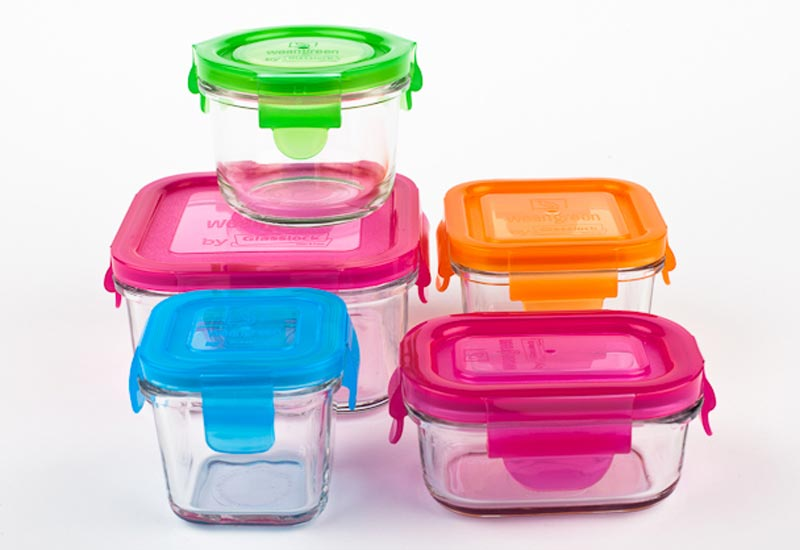 Wean Green Glass storage containers for every eventuality Life