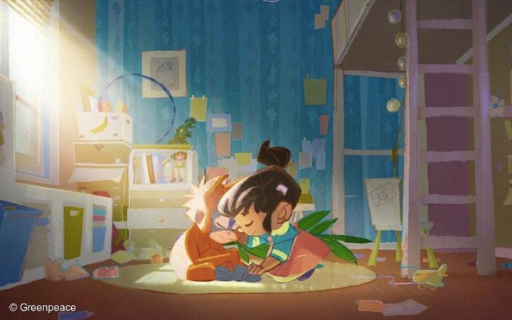 Rang Tan Greenpeace Launch Animated Story To Raise