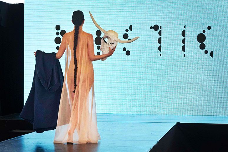 Jalila Essaidi Turning Manure Into Haute Couture With