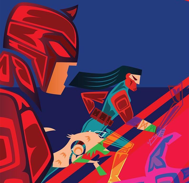 Comic book artist Jeffrey Veregge reimagines Marvel