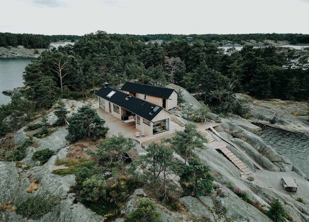 Project O Couple Design And Build Self Sustaining Summer Cabins On A 5 Acre Island In Finland Life Soul Magazine